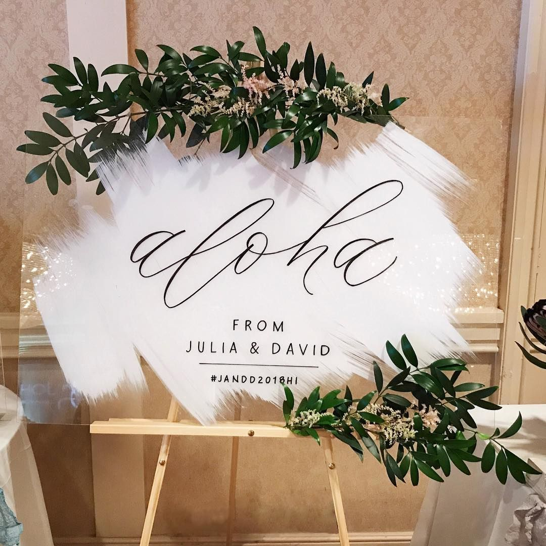Pin By Wildchild And Happysoul On Style Shooting Wedding Welcome Signs Wedding Signs Acrylic Sign