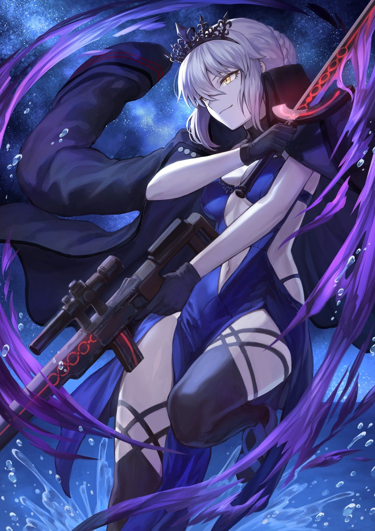 Saber alter Anime, Fate anime series, Character art