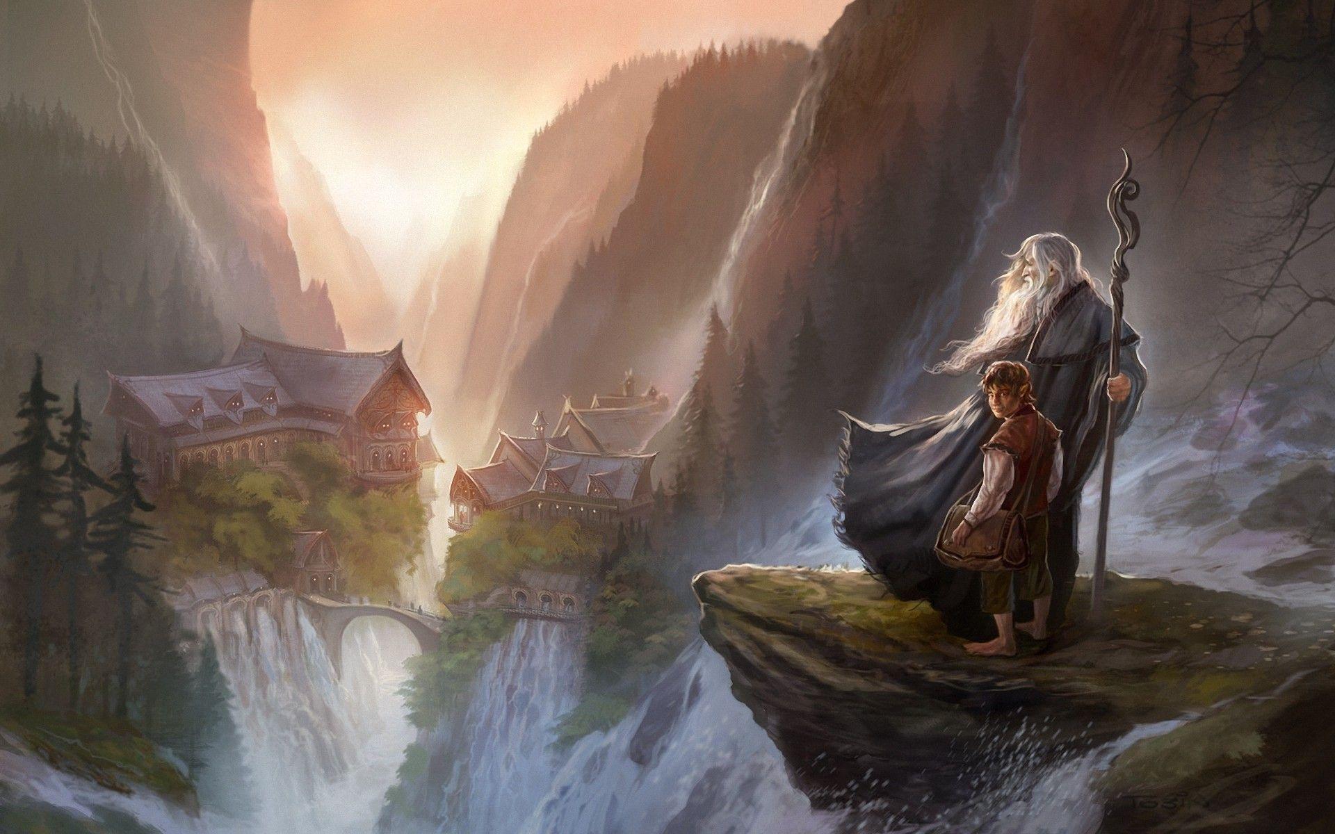 Fantasy Lotr Wallpaper Middle Earth Art Tolkien The Hobbit Jrr Tolkien