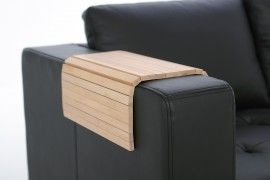 Laptop Tafel Bank : Armrest wooden shelf giltray de placemat voor uw bank deze
