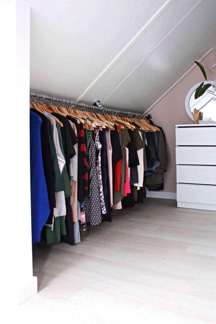 ▷ 8 + idées pour organiser ses vêtements avec un dressing fait