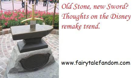 What do I think of all those Disney remakes?: http://www.fairytalefandom.com/2015/07/the-disney-remake-machine.html