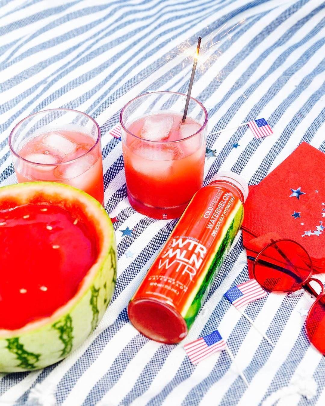 Sip it. Spike it. Share it. Happy4th WTRMLN WTR + VODKA