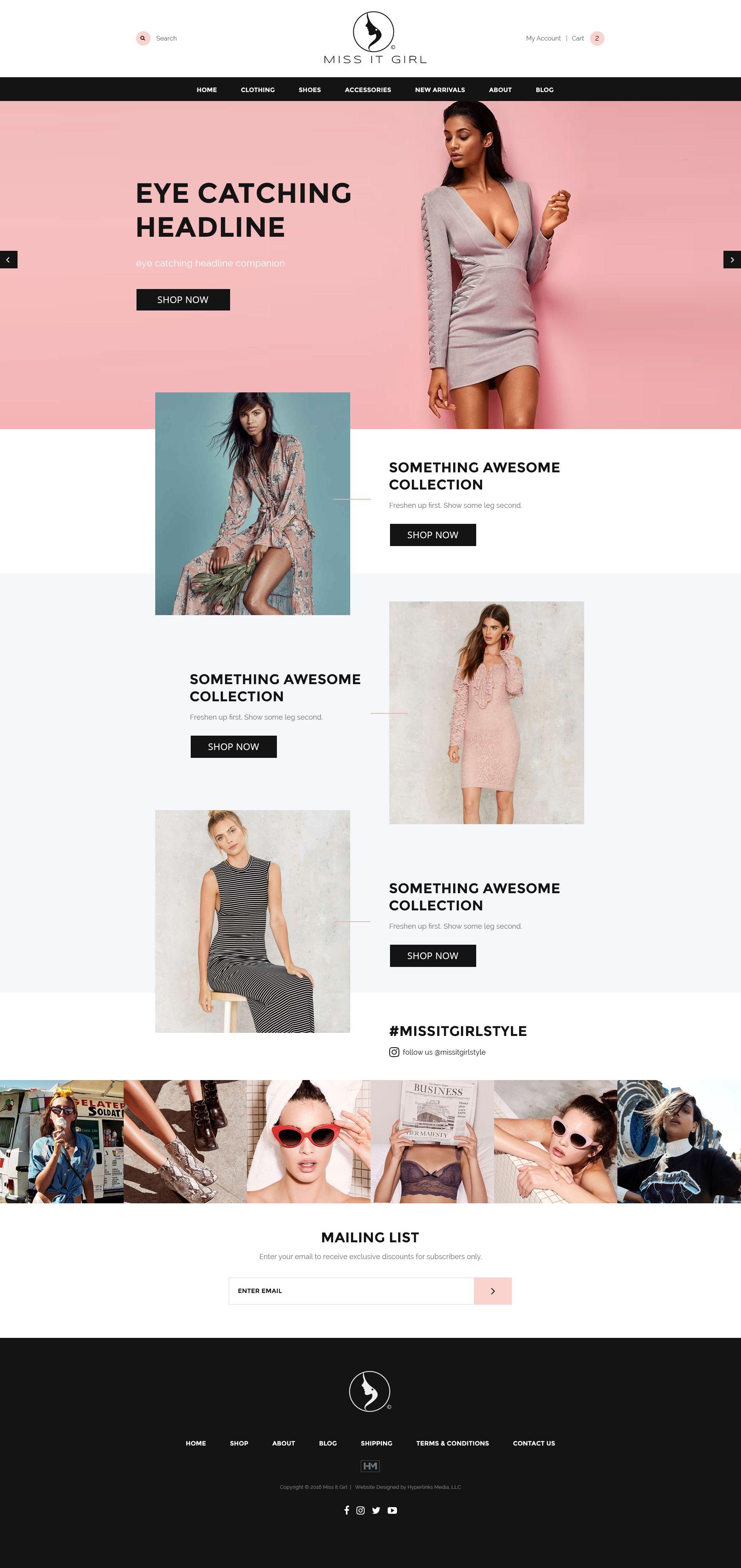 Ecommerce Web Exploration Ecommerce Web Fashion Web Design Ecommerce