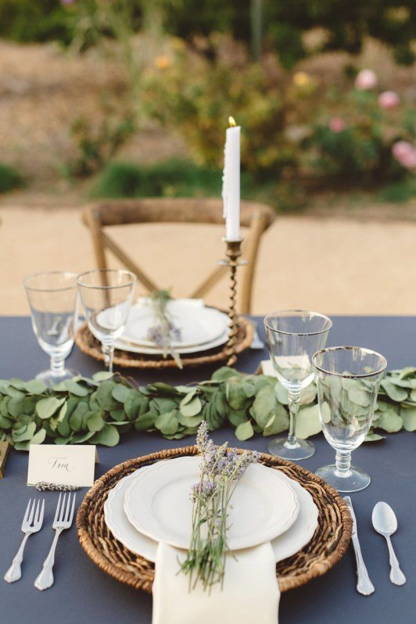 Rustic Chic Wedding Table Settings Stylemepretty 2017 05 08 Intimate Estate Ojai Photography Anna Delores