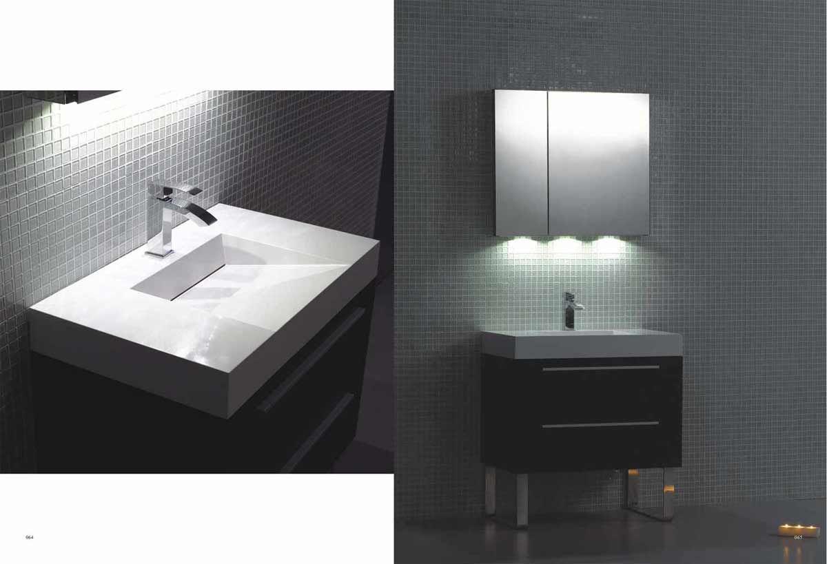 moderne badezimmer vanity  moderne badezimmereitelkeit