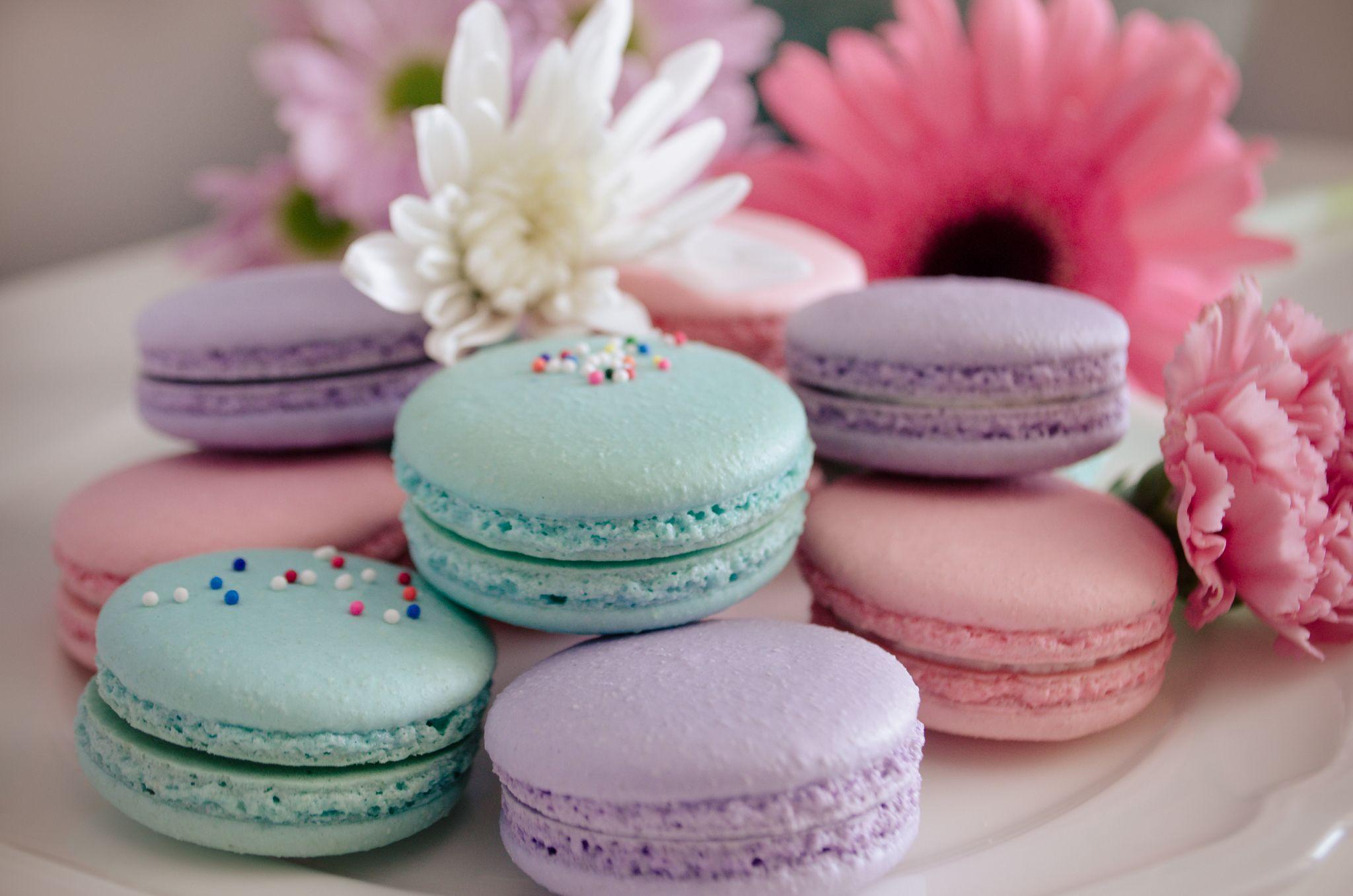 Easter macaron gift box fresh baked wedding cake roanoke