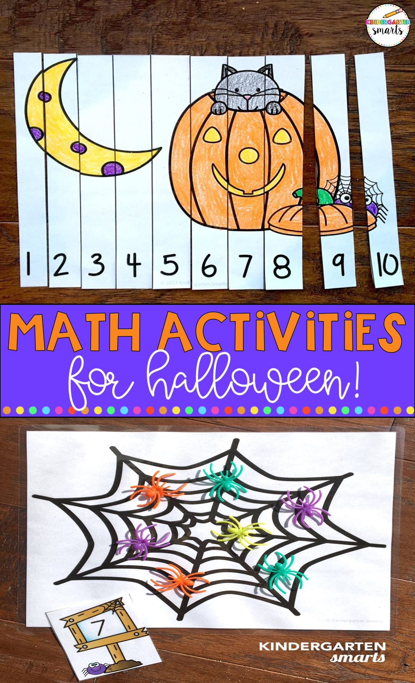 Make Your Math Centers Extra Fun With These Halloween