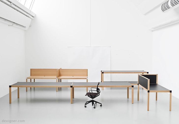 Ronan Erwan Bouroullec Create Cyl System For Vitra Office Furniture Design Bouroullec Design Vitra Design