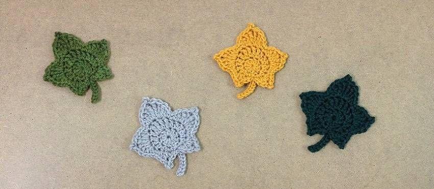 Patron hojas de Otoño a ganchillo   Bolsos crochet especiales ...