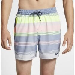Photo of Nike Linen Racer men's swim shorts (approx. 12.5 cm) – Blue NikeNike
