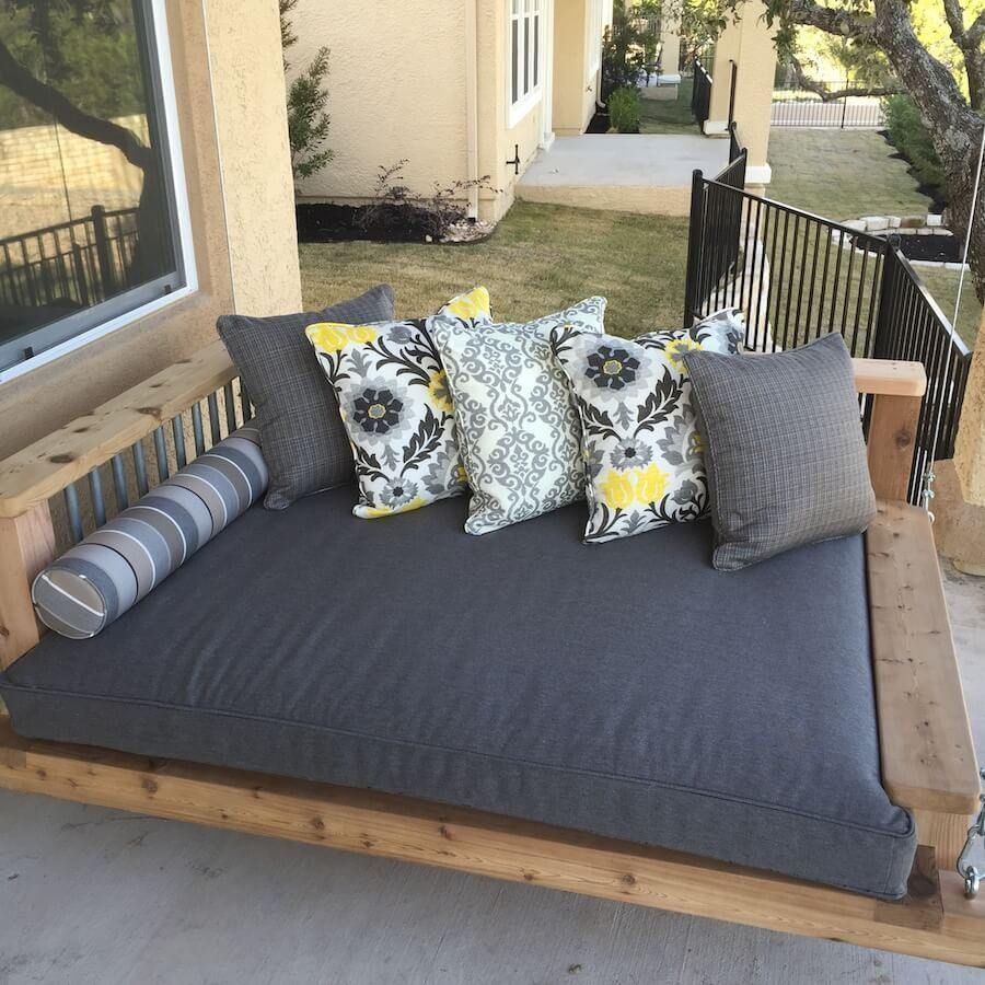 Front porch swing modern - Foley Swing Bed Chaise