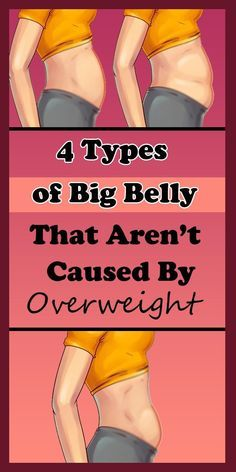 4 Types of Big Belly That Aren't Caused By Overwei