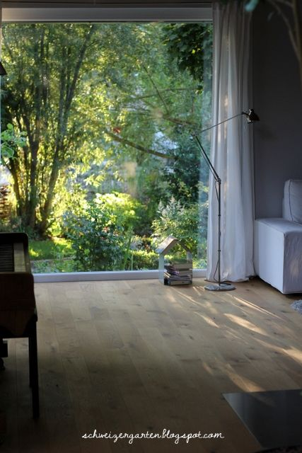 grosses+Fenster+Wohnzimmer+Parkett+Eiche+35+Bauwerk+geölt+ - wohnzimmer ideen eiche