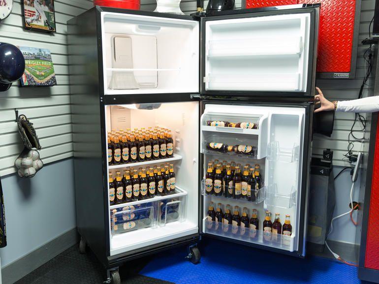 Pin By Cromo Storage On Gladiator Appliances Garage Refrigerator Garage French Door Refrigerator