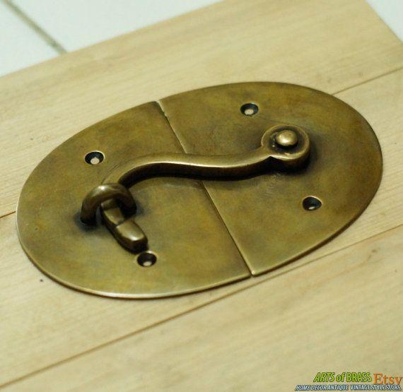 Rust latch hook Antique Latch Hook Antique lock Curved latch hook Ancient latch hook