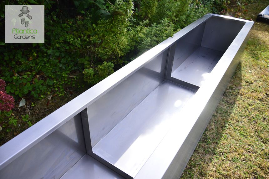 Extra Large Garden Trough Planter Pond Made Form 316 Stainless