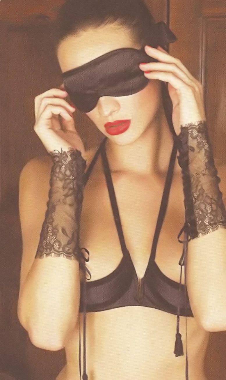 Maison Close - Villa Caprice cupless bra with Villa Satine lace ...