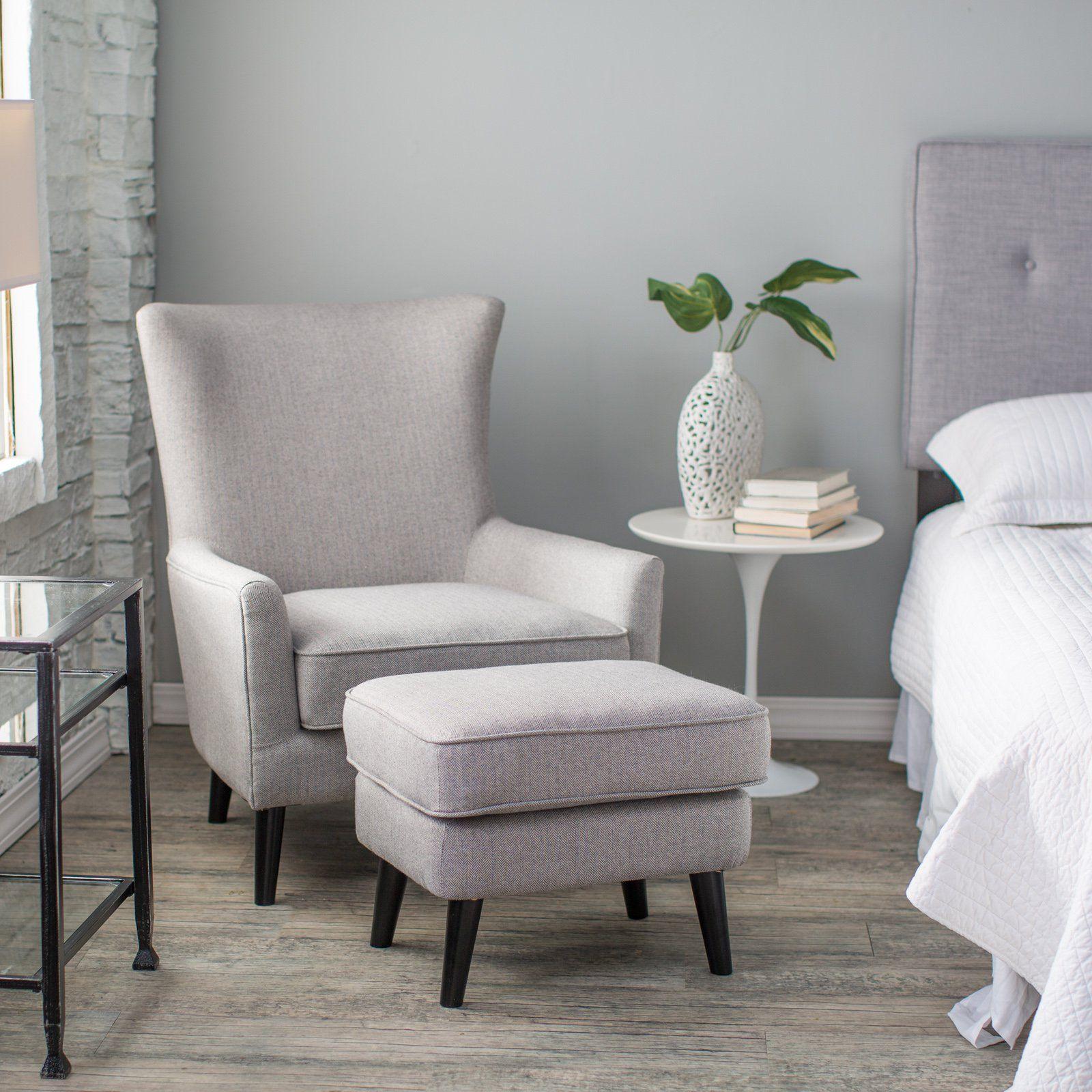 Have To Have It Belham Living Wool Herringbone Occasional Chair  # Gebrauchte Muebles