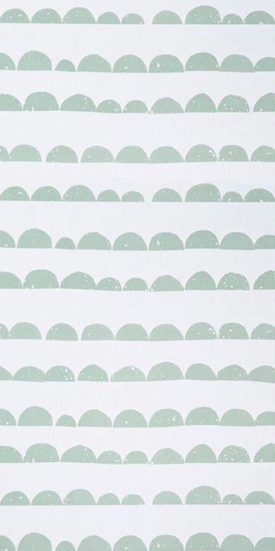 Papier peint Half Moon - Ferm Living Papier peint, Peindre et Chambres