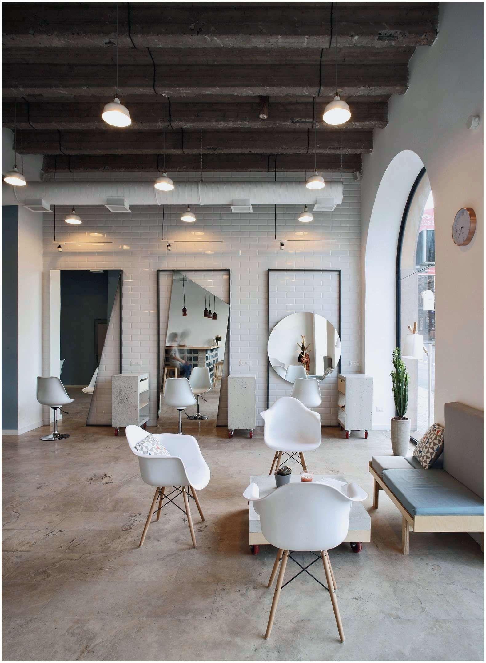50 Idee Deco Salon Noir Blanc Gris Desain Tukang Cukur Minimalis