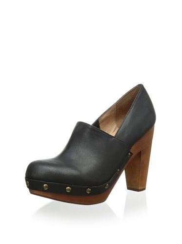 Fiel Women's Dardenne Heeled Clog (Black)