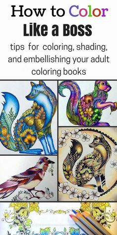 How-to-Color-Like-a-Boss- | Coloring books, Rock and Learning