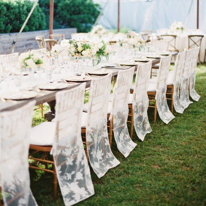 Wedding Chair Covers That Aren T At All Cheesy We Promise With