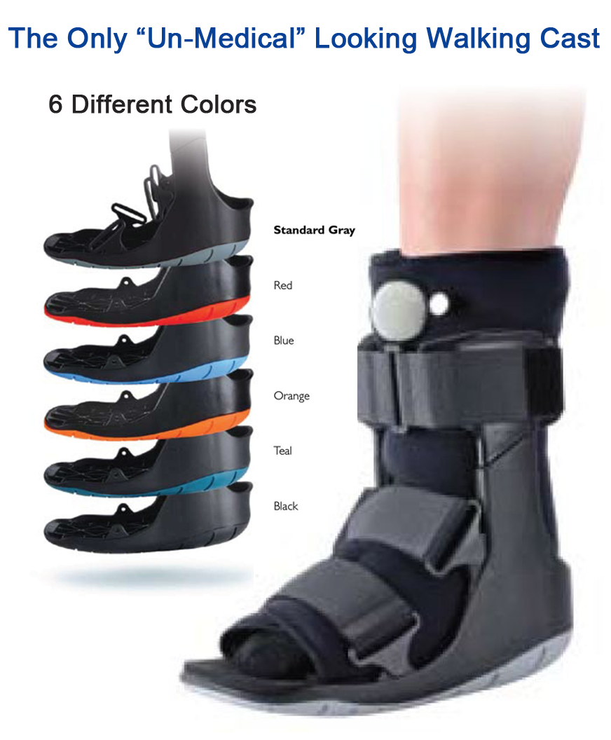 5bb7f89f76 Not what I want to be shopping for but...Short Air Walking Cast Boot  (Choice of Color) | Cast Walking Boot Brace