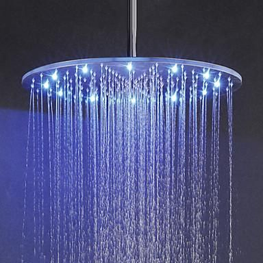 This Super Modern Led Rainfall Shower Head Is Color Changing Based