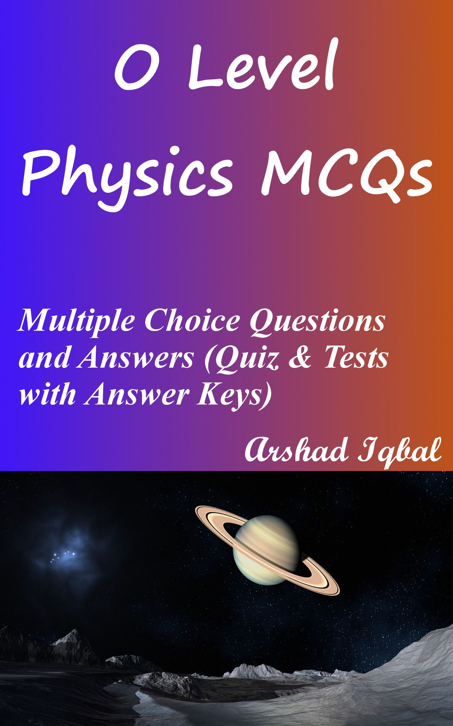 O Level Physics Mcqs Has 896 Multiple Choice Questions