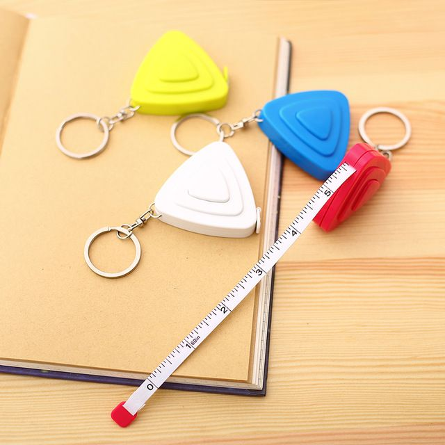 1 Pcs Candy Colored Ruler Drawing Template Plastic Tape Measure ...