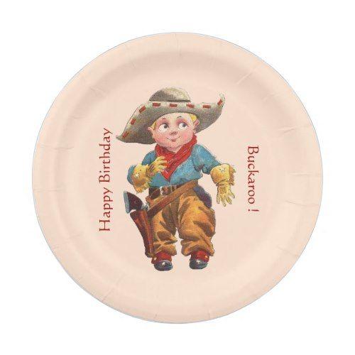 Cowboy Party Paper Plate  sc 1 st  Pinterest & Cowboy Party Paper Plate | Cowboy party