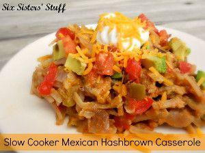 Mexican Hash Brown Casserole #dorritocasserolehamburger