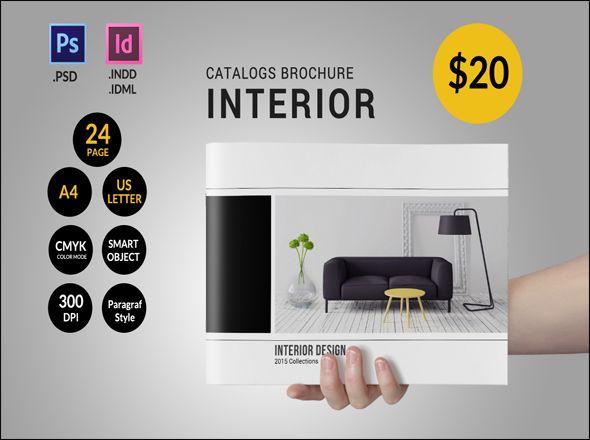 100+ Free & Premium Corporate Brochure Design Templates | Interior