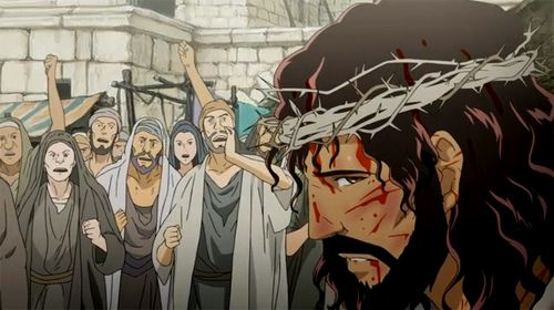 Jesus Last Day And The Temptation Of Peter Anime Jesus Christ