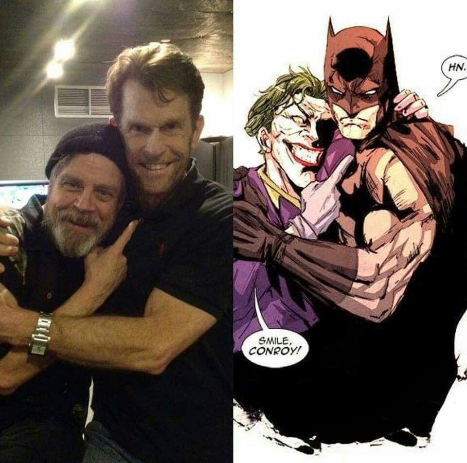 Mark Hamill and Kevin Conroy/Joker and Batman - could be my ...