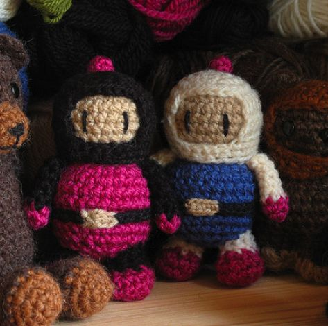 Amigurumi Patterns of Characters | Craftster Blog | 470x473
