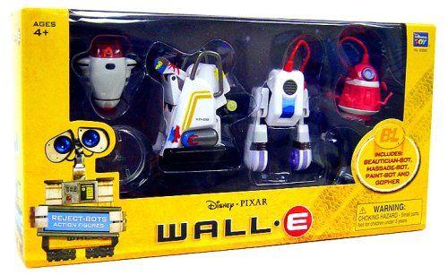 Disney Pixar Wall-E beautician bot Action Figure-Wall E-Thinkway Toys