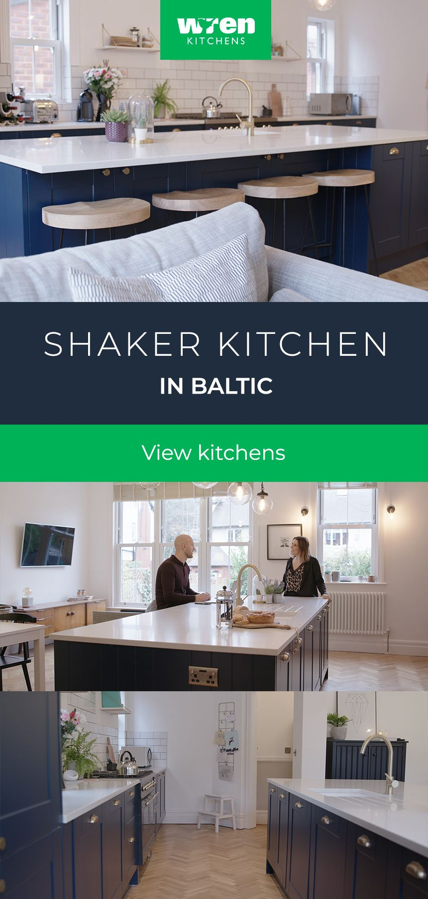 A Shaker kitchen was the perfect partner for a period home