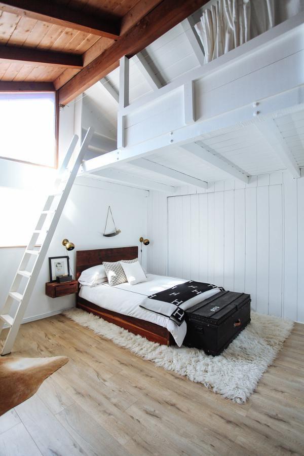 twofold la   ● hochbett / etagenbett ●   pinterest   the loft, Hause ideen