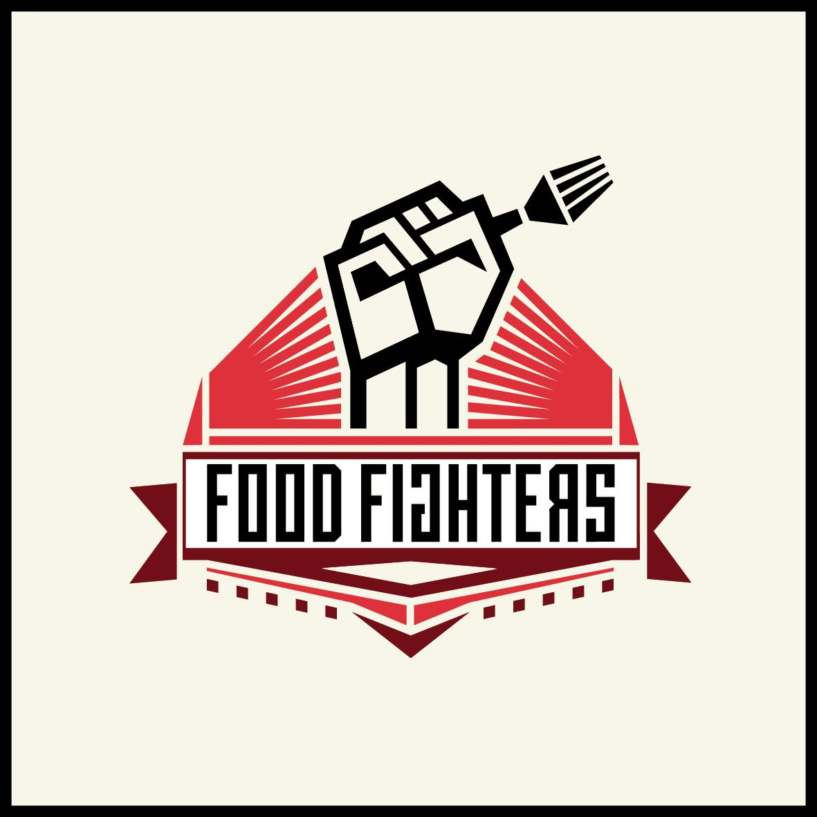 Food Fighters - Logo and Naming proposal