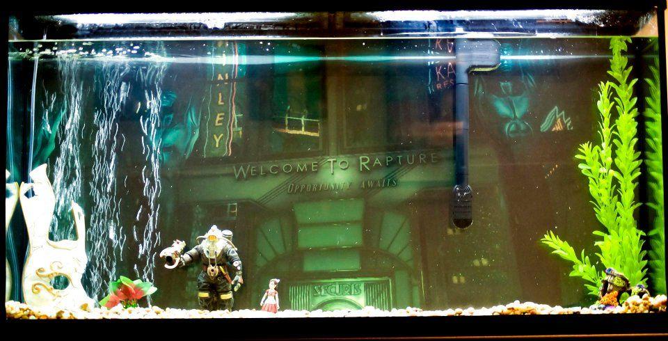 Bioshock Fish Tank via reddit user teenagexriot