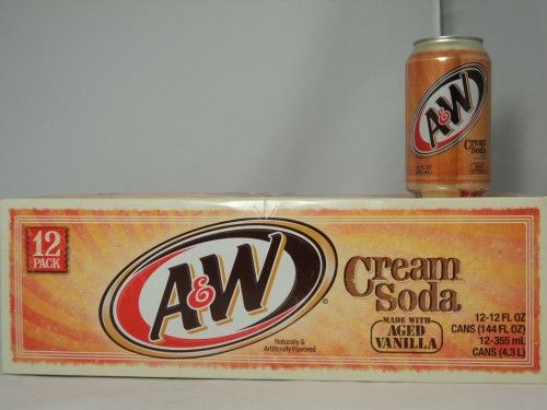 12 pack of A&W cream soda- this is the second best pop in the world!!!