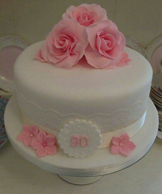 Pin By Linda Brazzell On Other Occ Cakes 90th Birthday Cakes