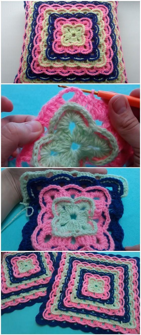 Crochet Easy Beautiful Pillowcase