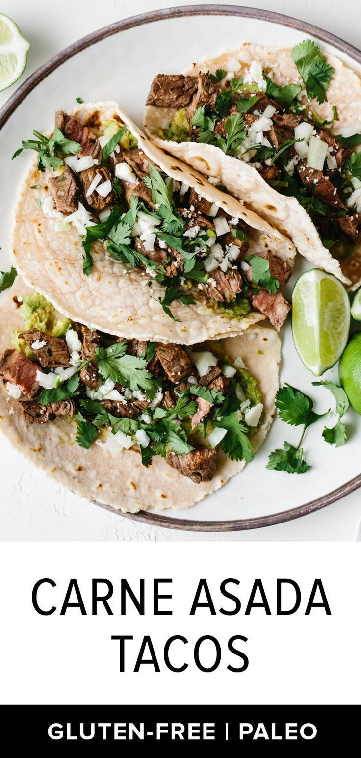 Carne Asada Tacos | Downshiftology