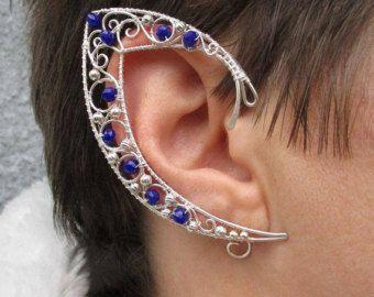 Paire d'oreilles elfiques encapsule Ligth par StrangeThingJewelry