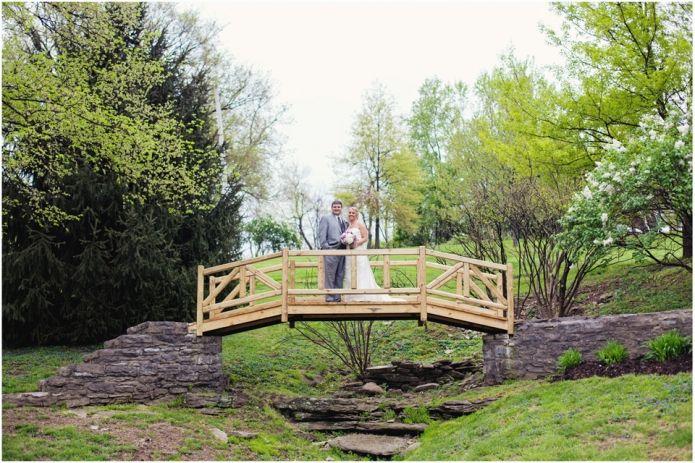 Kari & Tyler   Buffalo Trace Wedding   louisville wedding photography  >>> bridge shot