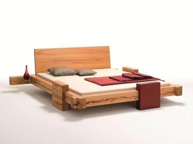 balkenbett metallfreie balkenbetten aus kernbuche von bettkonzept der betten werkstatt - Bett Backboard Ideen